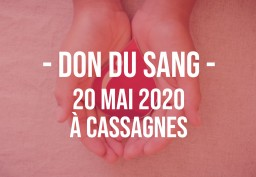 DON DU SANG 20 MAI - CASSAGNES