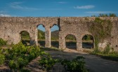The Aqueduc in Ansignan