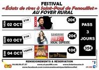 FESTIVAL ÉCLATS DE RIRES A SAINT-PAUL DE FENOUILLET - EDR STPF