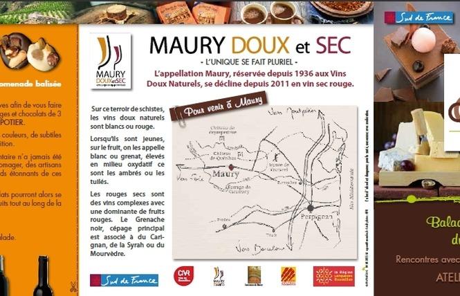 MAURY, FROMAGE ET CHOCOLAT 2 - Maury
