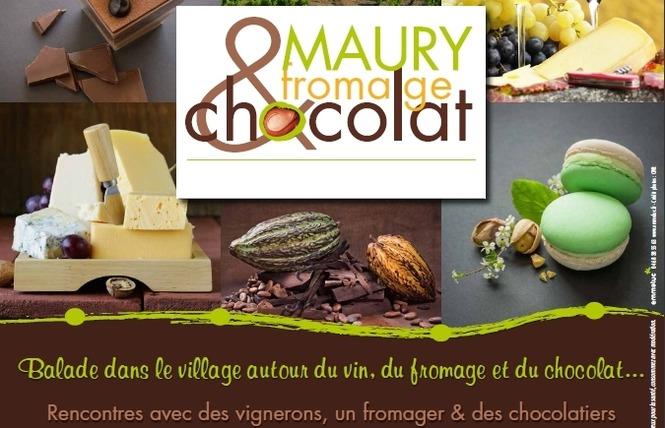 MAURY, FROMAGE ET CHOCOLAT 1 - Maury