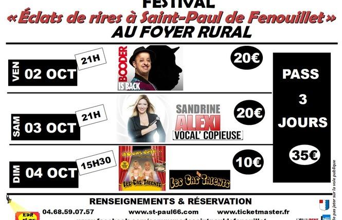FESTIVAL ÉCLATS DE RIRES A SAINT-PAUL DE FENOUILLET - EDR STPF 1 - Saint-Paul-de-Fenouillet