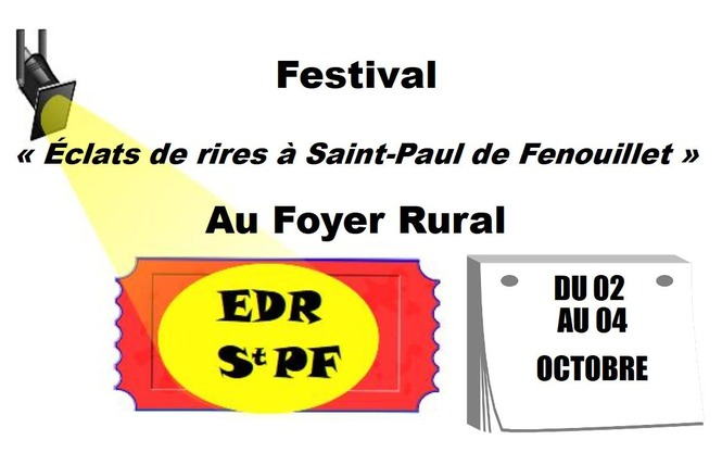 FESTIVAL ÉCLATS DE RIRES A SAINT-PAUL DE FENOUILLET - EDR STPF 2 - Saint-Paul-de-Fenouillet