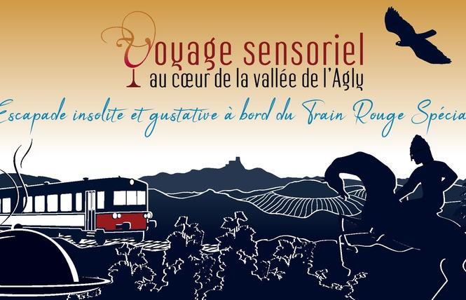 VOYAGES SENSORIELS A BORD DU TRAIN ROUGE 2 - Saint-Paul-de-Fenouillet