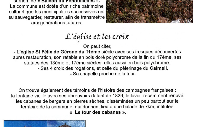 A LA DÉCOUVERTE DU FENOUILLÈDES - PRATS DE SOURNIA 4 - Prats-de-Sournia