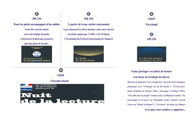 NUIT DE LA LECTURE A MAURY 2 - Maury
