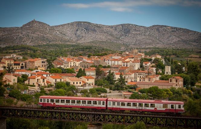 TRAIN DU PAYS CATHARE ET DU FENOUILLEDES 2 - Saint-Paul-de-Fenouillet