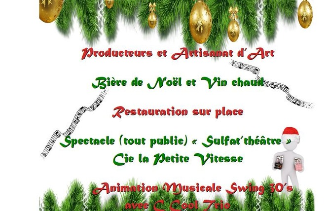 MARCHÉ DE NOËL PRODICTEURS ET ARTISANAT D'ART 1 - Saint-Paul-de-Fenouillet