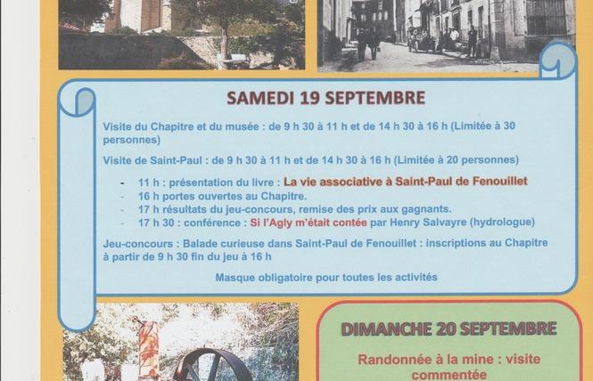 JOURNÉES EUROPÉENNES DU PATRIMOINE A SAINT-PAUL DE FENOUILLET 2 - Saint-Paul-de-Fenouillet