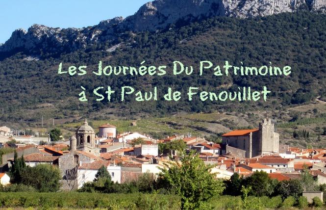 JOURNÉES EUROPÉENNES DU PATRIMOINE A SAINT-PAUL DE FENOUILLET 1 - Saint-Paul-de-Fenouillet